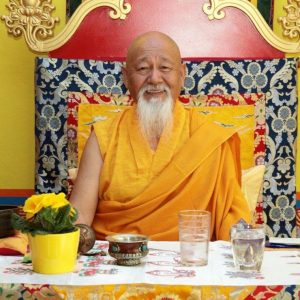 Lama Yeshe Rinpoches Besuch 5.-7. April 2019